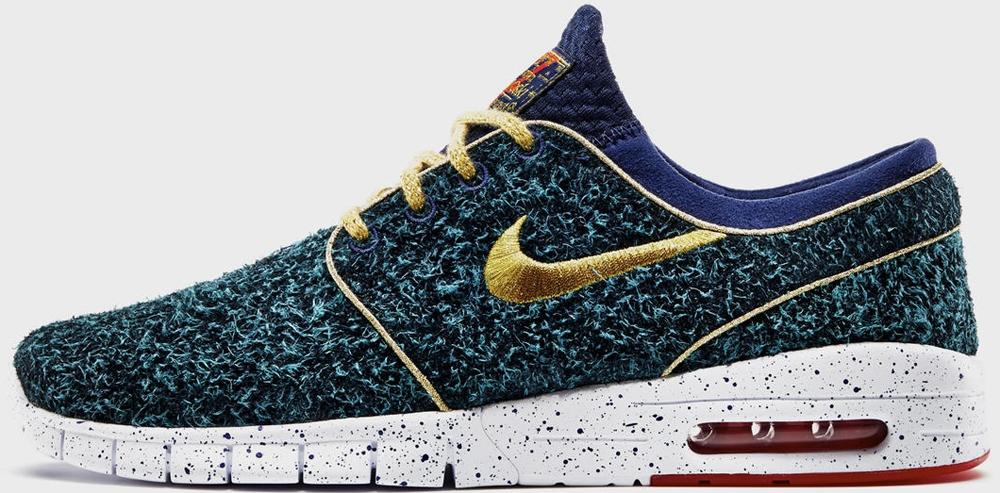 Nike Stefan Janoski Max SB DB Blue/Green-Gold