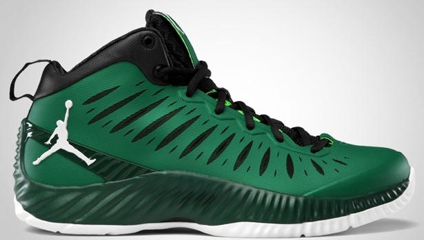 Jordan Super Fly Pine Green/White-Gorge Green-Black
