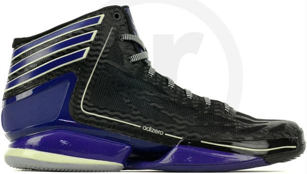 adidas adiZero Crazy Light 2 Black/Collegiate Purple-Black