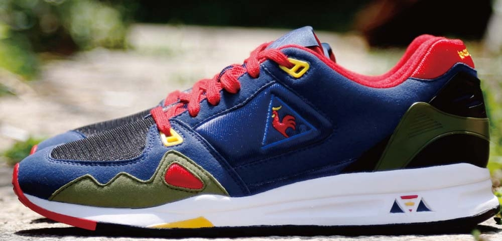Le Coq Sportif LCS R1000 Royal/Black-Red-Olive