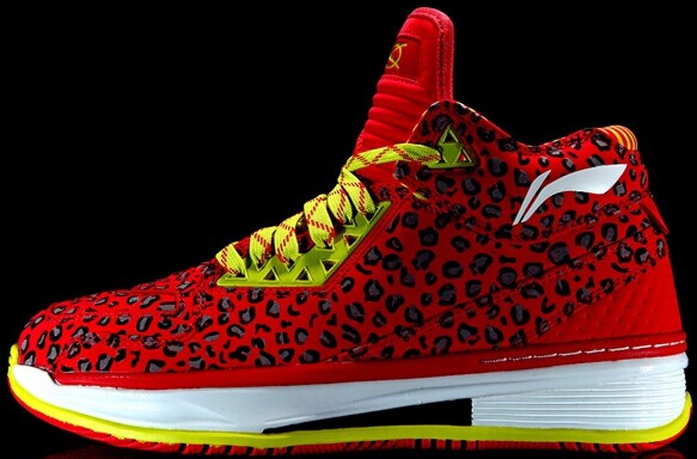 Li-Ning Way Of Wade 2 Red/Leopard