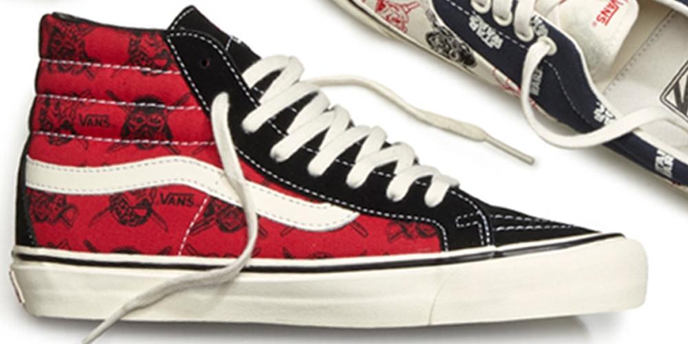 Vans OG Sk8-Hi LX Red/Black-White