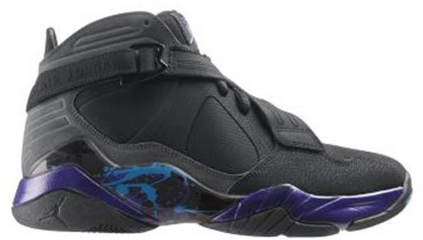 Air Jordan 8.0 Black/Dark Concord-Aqua Tone