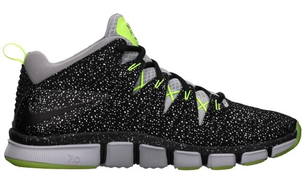 Nike Free Trainer 7.0 Black/Black-Volt-Wolf Grey