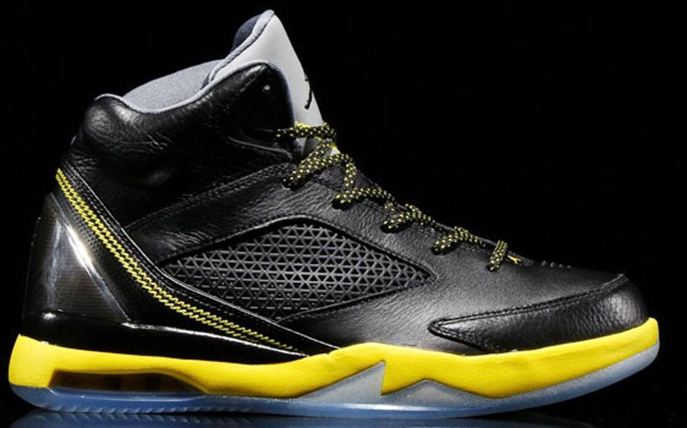 Jordan Future Flight Remix Wolf Grey/Vibrant Yellow-Black