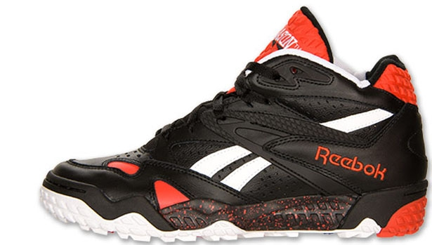 Reebok Scrimmage Mid Black/White-China Red
