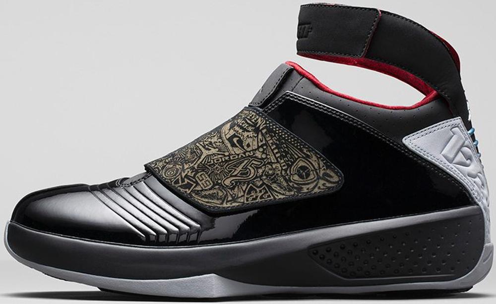 Air Jordan 20 Retro Black/Stealth-Varsity Red
