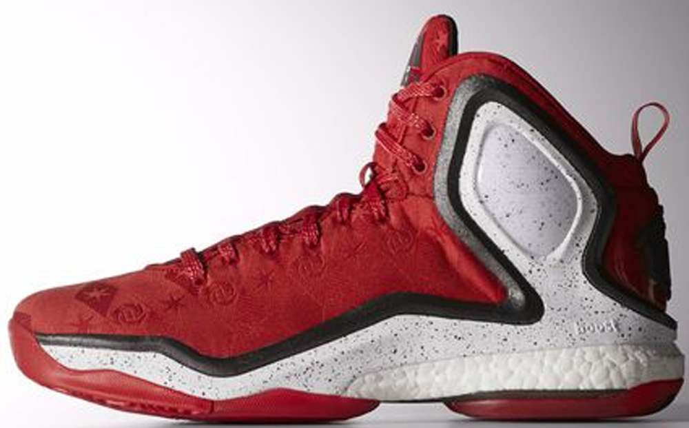 adidas D Rose 5 Boost Scarlet/Black-Bright Red