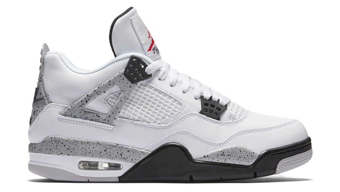 Air Jordan 4 Retro Og 'White Cement 2016 Release' - 840606-192 - Size 13 vOPQq5