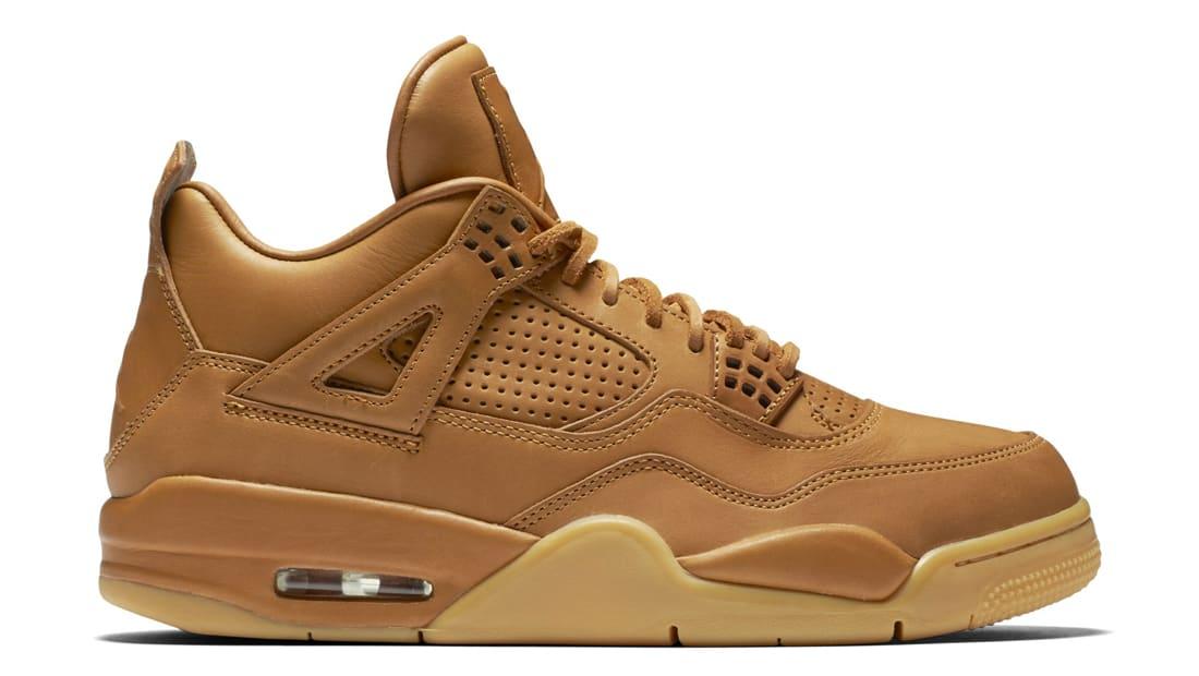 Nike Chaussures De Sport 'air Jordan 4 Retro Premium' - Jaune Et Orange vWTtc1