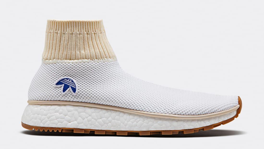 adidas Women's Aw Run Clean Sock Sneaker LhC0qW