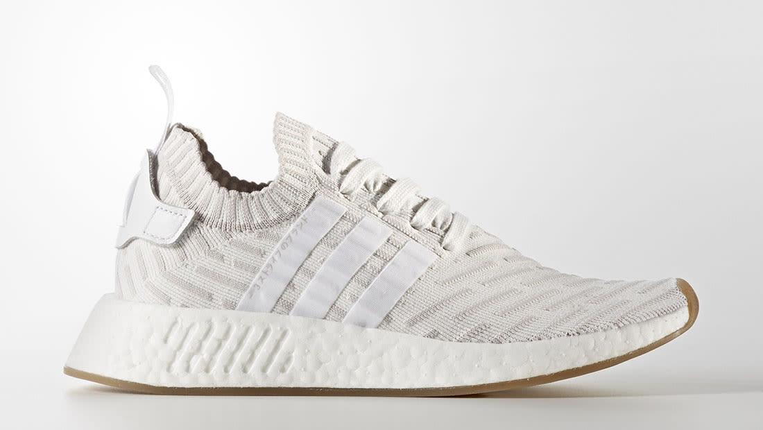Adidas De Nmd_r2 'primeknit Sneaker - Vert SOavT
