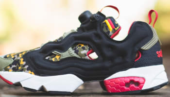 Reebok Instapump Fury Black/Green-Red