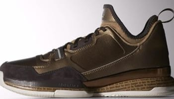 adidas D Lillard 1 Cardboard/Light Brown-Night Brown