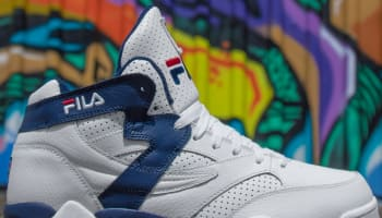 Fila M-Squad White/Fila Navy-Fila Red