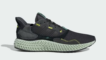 Adidas ZX 4000 4D Carbon/Carbon/Semi Solar Yellow