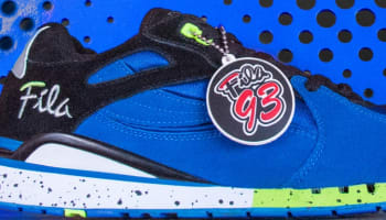 Fila Overpass Black/Prince Blue-Green-White