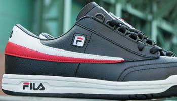 Fila Original Tennis Black/White-Fila Red
