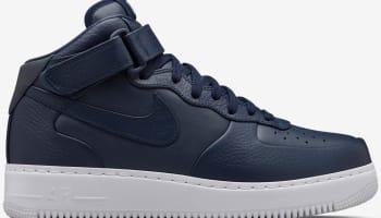 Nike Air Force 1 Mid SP Obsidian/White-Obsidian