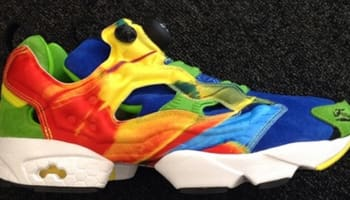 Reebok Instapump Fury Awesome Blue/Smash Green-Ultimate Yellow