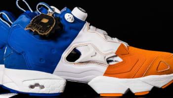 Reebok Instapump Fury Orange/White-Royal Blue