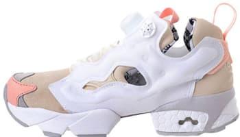 Reebok Instapump Fury CNY Cream White/Steel-Coral Glow-White