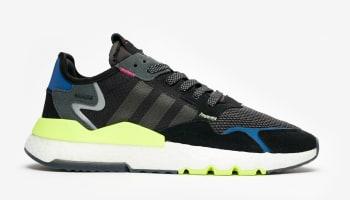 Sneakersnstuff x Adidas Nite Jogger Black/Carbon-Grey Six