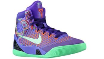 Nike Kobe 9 Elite GS Purple Venom/Vivid Pink-Turf Orange