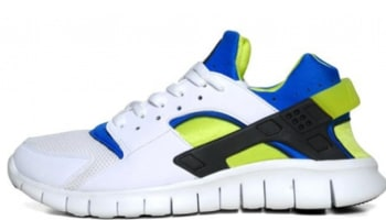 Nike Huarache Free Run 2012 White/Soar-Cyber