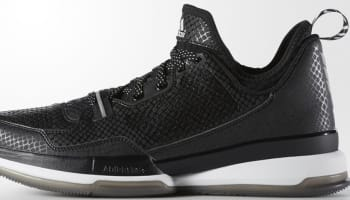 new style ba3d6 8f074 adidas D Lillard 1 Core Black/Running White