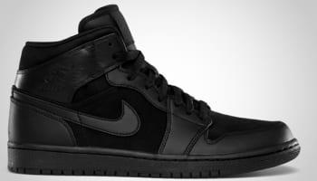 Air Jordan 1 Phat Mid Black/Black