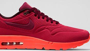 best service 76e08 bc50e Nike Air Max 1 Ultra Moire Gym Red/University Red-Deep Burgundy-Team