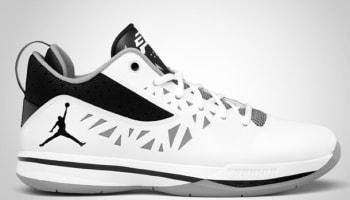 Jordan CP3.V White/Black-Cement Grey