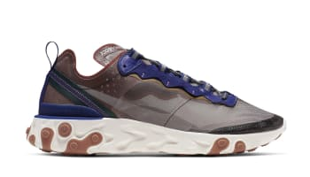 timeless design e4417 07dd1 Nike React Element 87 Dusty Peach Atmosphere Grey
