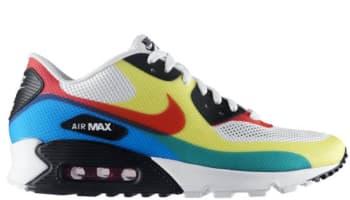 Nike Air Max '90 Hyperfuse Premium NRG White/Sport Red-Solar
