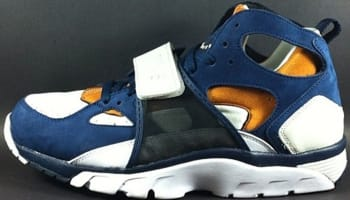 Nike Air Trainer Huarache Premium Light Bone/Midnight Navy-Ginger-White