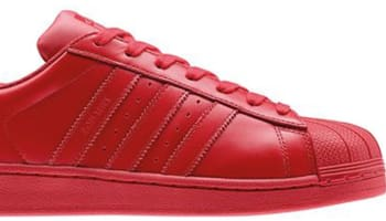 adidas Superstar Red/Red-Red