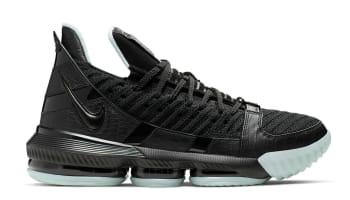 6fe1ea0c287b Nike LeBron 16 Black Black-Glow