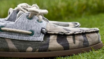 Sperry A/O Heather Grey/Green