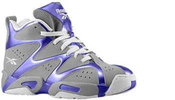 Reebok Kamikaze I Mid Grey/Purple-White