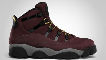 Jordan 6 Rings Winterized Deep Burgundy/Lion-Cool Grey
