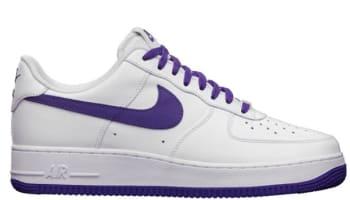 sports shoes e66bb 9a6fb Nike Air Force 1 Low LE QS White/Court Purple