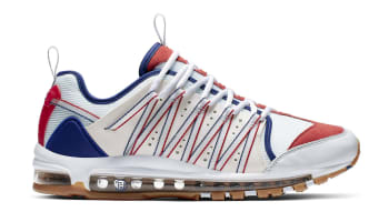 more photos f6288 b9754 May. 8. Clot x Nike Air Max 97 Haven White Sail-Deep Royal Blue