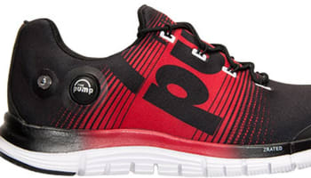Reebok Z Pump Fusion Black/Red Rush-White
