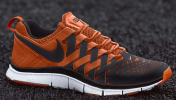 new concept 2a961 e0f67 Nike Free Trainer 5.0 Black Black-Safety Orange-White