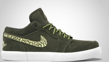 Jordan Retro V.1 Cargo Khaki/Yellow Diamond-White