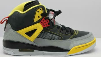Jordan Spiz'ike Black/Challenge Red-Metallic Silver-Tour Yellow