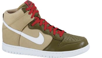 Nike Dunk High Jersey Gold/White-Iguana