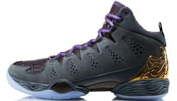 meet 7a457 b82f2 Jordan Melo M10 BHM Dark Magnet Grey Metallic Gold-Black-Court Purple