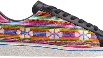 adidas Originals Superstar 80s Black/Multi-Color